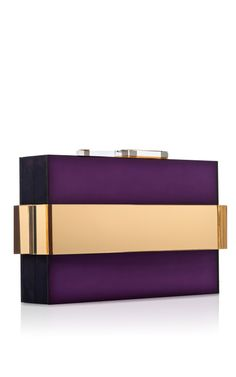 Amethyst Mirrored Orbit Clutch - This is so, so different. I love it.