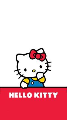 Hello Kitty Art, Hello Kitty My Melody, Hello Kitty Pictures, Sanrio Hello Kitty, Hello Kitty Collection, Iphone 6 Wallpaper, Hello Kitty Wallpaper, Kawaii Drawings, Doraemon