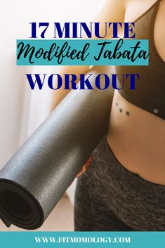 This week's workout is a body-weight modified Tabata workout. - This week's workout is a body-weight modified Tabata workout. If you're crunched for -