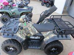 Used 2016 Polaris Sportsman 850 Polaris Pursuit Camo ATVs For Sale in Louisiana.