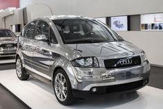 Audi A2 vue avant