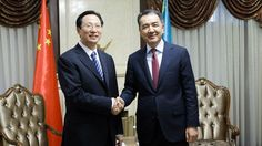 Bakytzhan Sagintayev meets with Minister of Agriculture of China Han Changfu  Today in Ukimet Uyi the Prime Minister of the Republic of Kazakhstan Bakytzhan Sagintayev met with the Minister of Agriculture of the People's Republic of China Han Changfu.  http://s.pm.kz/m6xL