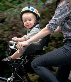 Baby bike seat--like that's its in front