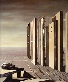 Kay Sage - 1951-1952 - Point of Intersection