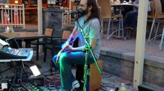 """Mike Thomas & His Suitcase Contraption - """"Whole Lotta Love/Back in Black"""""""