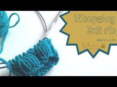 Lær at strikke et pandebånd del 1 af 2 - YouTube