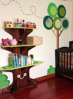 Josh should build me these shelves for our future kiddos' nurseries