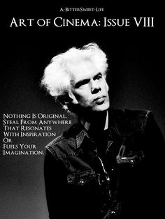 A-BitterSweet-Life presents Art of Cinema, one issue with a lucky 7 sources of inspiration to spark your filmmaking passion. Jim Jarmusch's Golden Rules to Filmmaking There are as Many Ways to Make a. Tv Movie, Movies, Indie, Lucky 7, Movie Scripts, Film Studies, Film D'animation, Film School, Haruki Murakami