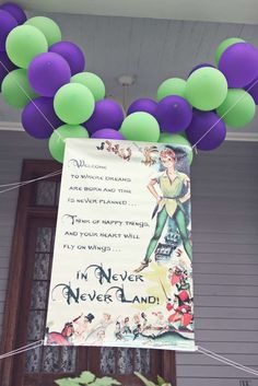 Ainsley's Neverland 3rd Birthday | CatchMyParty.com