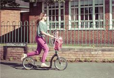 Scooter-Mum fitness. It's worth investing in a quality adult scooter like this Swifty ZERO