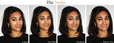 Love Naheeda: NYX SOFT MATTE LIP CREAM SWATCHES - The nudes Nyx Cosmetics Lipstick, Lipstick Swatches, Lipsticks, Nyx Soft Matte Lip Cream, Olive Skin, Tan Skin, Eyeshadow Looks, Beauty Bar, Lip Colors