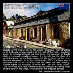 Vulcan Hotel Saint Bathans, New Zealand 'World of the Paranormal' are short… Real Haunted Houses, Haunted Hotel, Spooky Stories, Ghost Stories, Halloween Stories, Creepy Dude, Creepy Things, Creepy Stuff, Spooky Scary