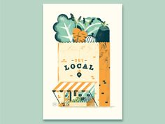 Buy local by Daniele Simonelli #Design Popular #Dribbble #shots