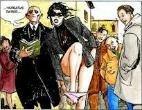 Maremma zoccola perdo le mutande in procession...