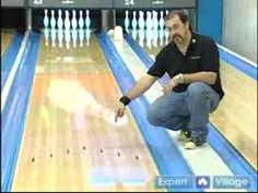 Bowling Lessons for Beginners : How to Use Lane Arrows in Bowling
