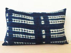 Image of Vintage Indigo Pillow