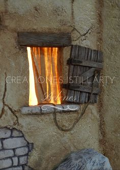 Handmade House, Bethlehem, Book Nooks, Baby Sewing, Cribs, Nativity, Medieval, Cottage, Doors