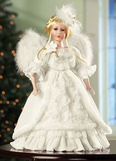 Winter Wonder Collectible Angel Doll