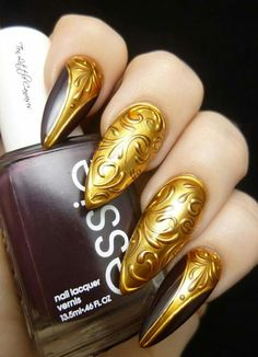 Nail art from Facebook