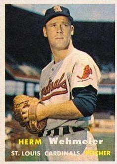 81 - Herm Wehmeier - St. Louis Cardinals