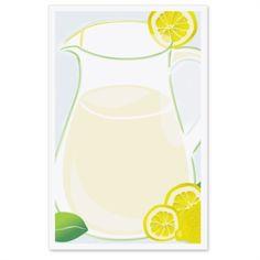 Fresh Lemonade Casual Invitations