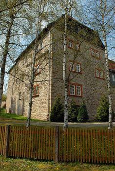 Panoramio - Photo of Weberstedt - Schloss Goldacker