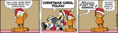 Garfield Cartoon for Dec/18/2012.........Ha ha ha, he's been trying so hard to be good till after Xmas, but can he make it to Xmas? I certainly doubt it. ^_^