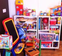 Arrumação e organização de brinquedos | Storage and toy organization