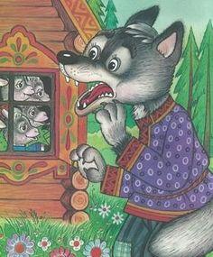 könnt ihr knusprigen Geislein mir bitte sagen wo in Salem - das Wolfreservat von Mme Isegrimaud ? .... Wolf, Paper Gift Box, Stories For Kids, Red Riding Hood, Conte, Story Time, Preschool Activities, Cartoon Characters, Storytelling