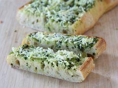 Basil Garlic Bread. Yum