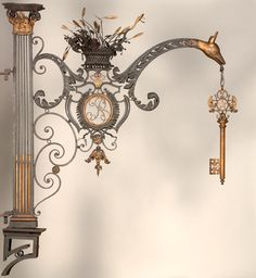 Paris Locksmith - sign c. 1760-1790