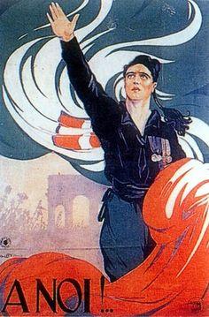 """Italian  WW2  """"To us"""""""
