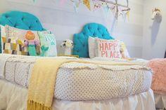Little Girls Bedroom Ideas - Beddys Bedding Littl. Little Girls Bedroom Ideas - Beddys Bedding Littl Zip Up Bedding, White Bedding, Gold Bedding, Bedding Sets, Little Girl Bedrooms, Girls Bedroom, Shared Bedrooms, Teen Bedrooms, Bedroom Themes