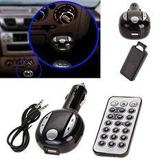 Wireless Bluetooth FM Car Kit Transmitter Handsfree MP3 USB SD LCD Remote -- BuyinCoins.com