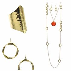 Create your wishlist and update your look, today!  http://www.ourjewelryclub.com/shop/hammered-gold-ring/