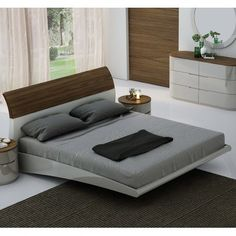 Offers contemporary bedroom furniture in San Francisco. Variety of modern bedroom sets and more! Bedroom Bed Design, Modern Bedroom Decor, Contemporary Bedroom, Bedroom Sets, Contemporary Furniture, Modern Contemporary, King Bedroom, Trendy Bedroom, Bedding Sets