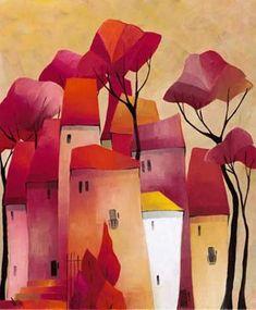 Art Print: Fairy Like Wall Art by Gisela Funke by Gisela Funke : Art Prints Quotes, Wall Art Prints, Naive Art, Whimsical Art, Painting Inspiration, Painting & Drawing, Watercolor Art, Original Paintings, Art Paintings