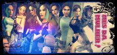 Vamos ser sinceros. A personagem feminina mais icônica  dos games  é, sem dúvida, Lara Croft , a fantástica arqueóloga britânica de ori...