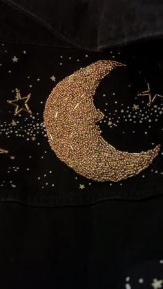 Bead Embroidery Tutorial, Felt Embroidery, Embroidery Patches, Hand Embroidery Patterns, Embroidery Designs, Sewing Patterns, Fashion Sewing, Diy Fashion, Baby Girl Birthday Dress