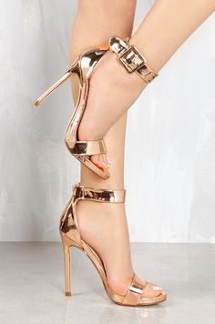 Lola Shoetique - Second Take - Rose Gold, $28.99 (http://www.lolashoetique.com/second-take-rose-gold/)
