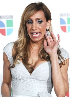 lili estefan 2014 | Lili Estefan Lili Estefan arrives at Univision's Premio Lo Nuestro a ...