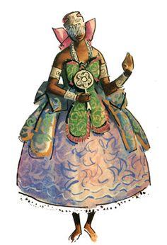 """Iemanjá - Imagens retiradas do livro """"Os Deuses Africanos no Candomblé da Bahia""""…"""