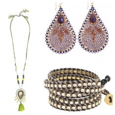 An assortment of #accessories with a far-away-feel! #CalypsoStyle