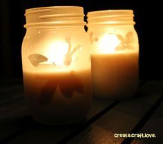 These DIY Citronella Candles will prevent you from being a mosquito blood bank!