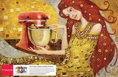 I Believe in Advertising | ONLY SELECTED ADVERTISING | Advertising Blog & Community » Whirlpool KitchenAid: Art Deco, Art Nouveau, Pop Art, Brazilian Modernism, Modernism, Surrealism