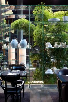 The Conservatorium restaurant, brasserie and lounge - Amsterdam Restaurant Interior Design, Cafe Interior, Interior Exterior, Kitchen Interior, Interior Architecture, Hotel Centro, Luxury Hotel Design, Luxury Homes, Café Restaurant