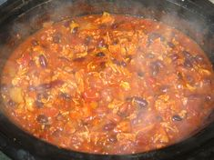 Debbi Does Dinner... Healthy & Low Calorie: Buffalo Chicken Chili in ... - Read great slow cooker tips by Selecting the picture