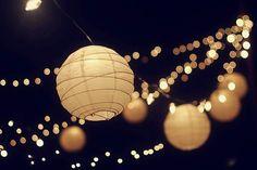 I want paper lantern lights at my wedding reception. It's happening.