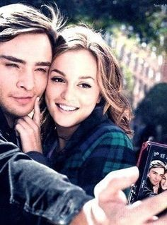 Chuck & Blair. This will forever be my favorite picture of anyone ever @Brittany Campos