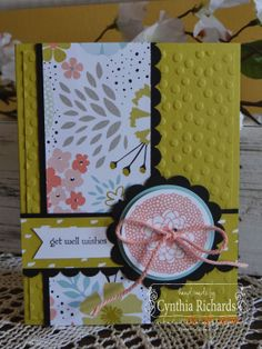 Stampin' Up! Petal Parade, Freshly Made Sketches, Sweet Sorbet